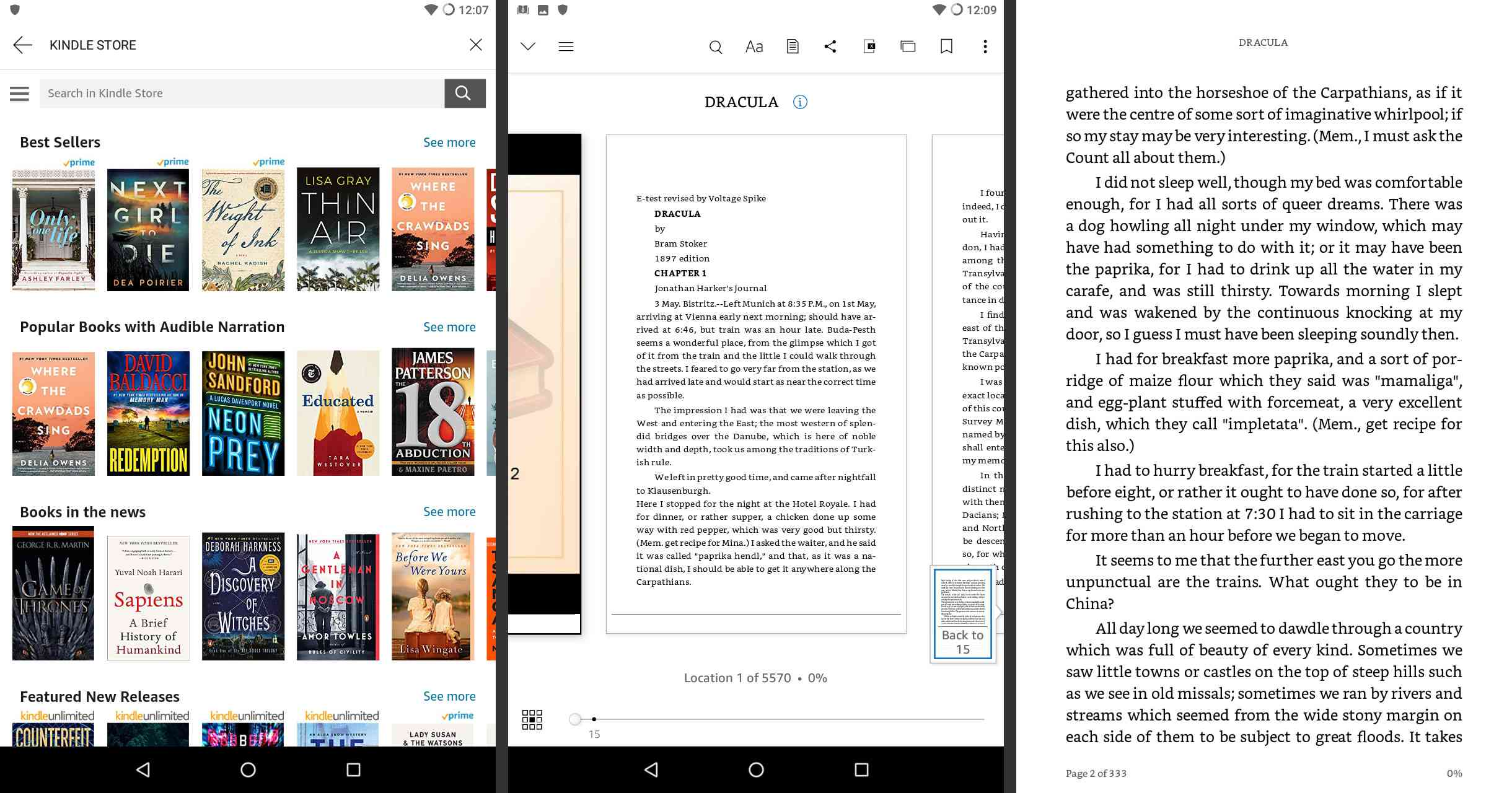 Best Ebook Readers for Android Tablets
