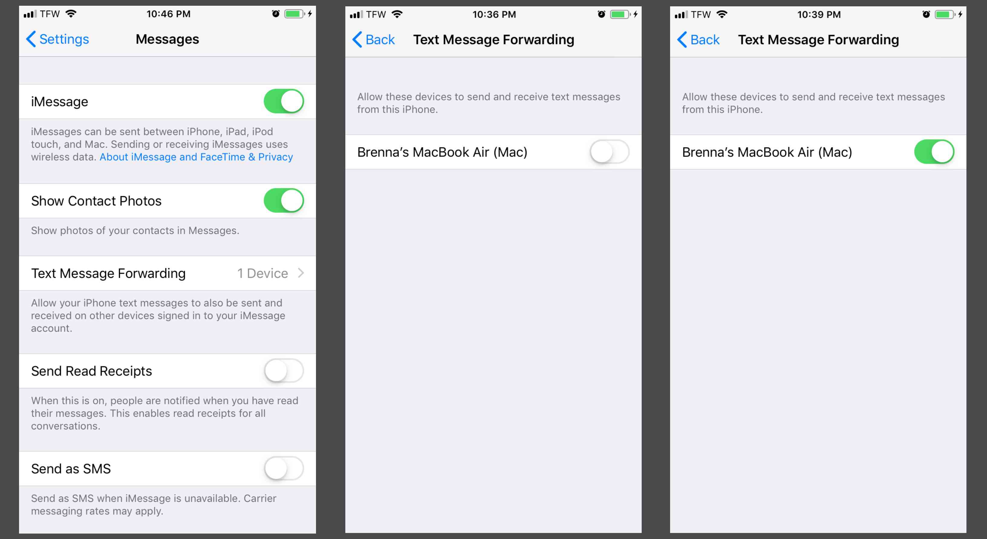 How to Get Text Messages on Your Mac