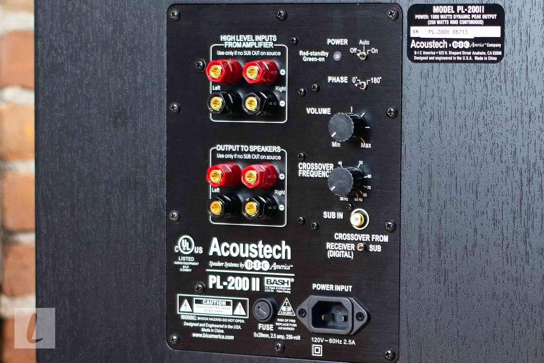 BIC Acoustech PL-200 II Subwoofer