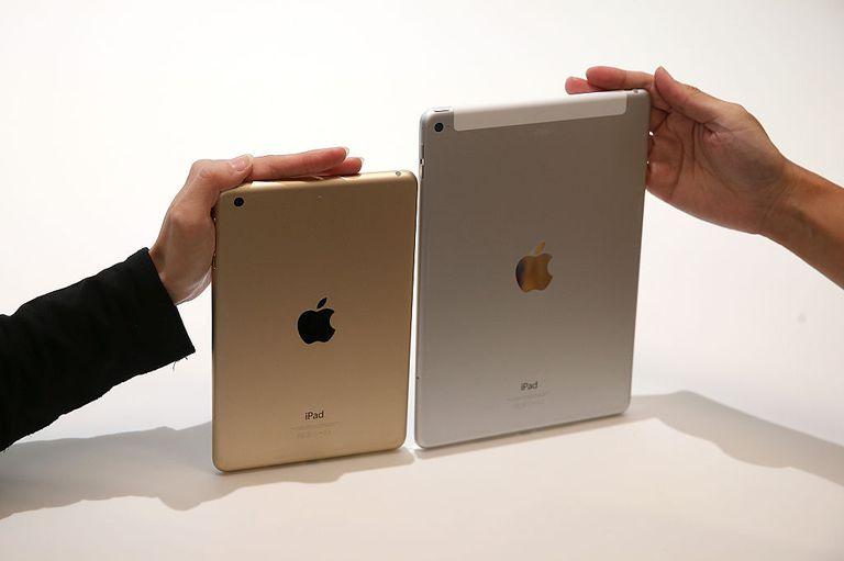 iPad Air 2 and iPad Mini 3 GPS