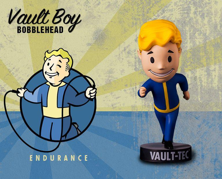 Vault Boy Endurance Bobblehead figurine