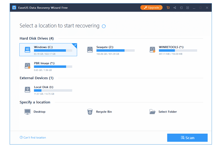 easeus data recovery 9.0 free download
