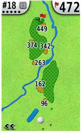 Garmin Approach G5 Golf GPS Targets