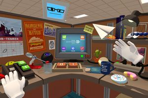 Screenshot of Job Simulator