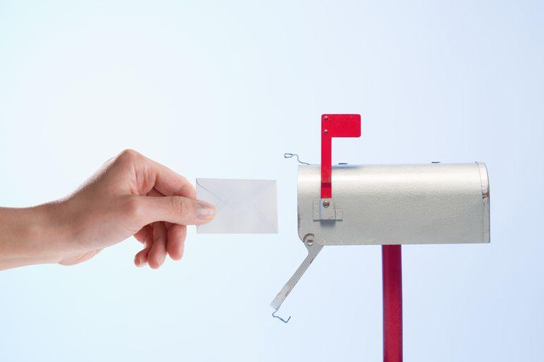 Mailing miniature letter