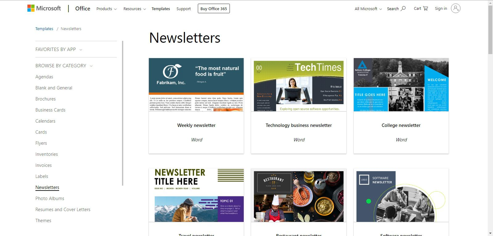 Newsletter Template Free | Free Newsletter Templates For Print And Web