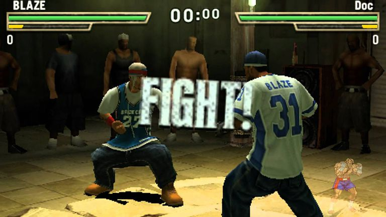 Two opponents square off in Def Jam Fight for NY: The Takeover