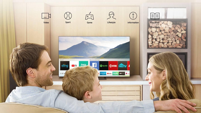 Samsung Smart TV Lifestyle Image