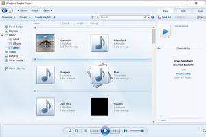 Windows Media Player screenshot