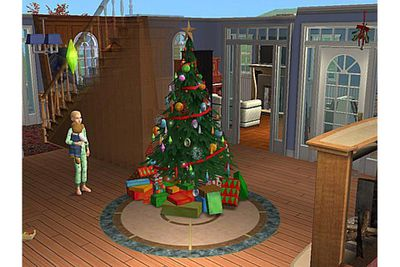The Sims 2 How To Get E Visit This Christmas