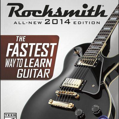 Rocksmith 2014 Xbox One box