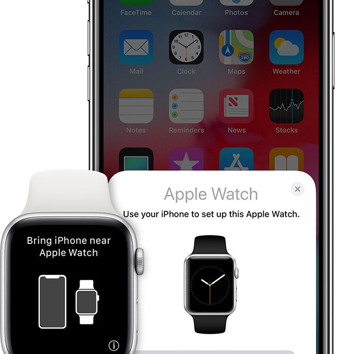 Apple Watch paring with and iPhone