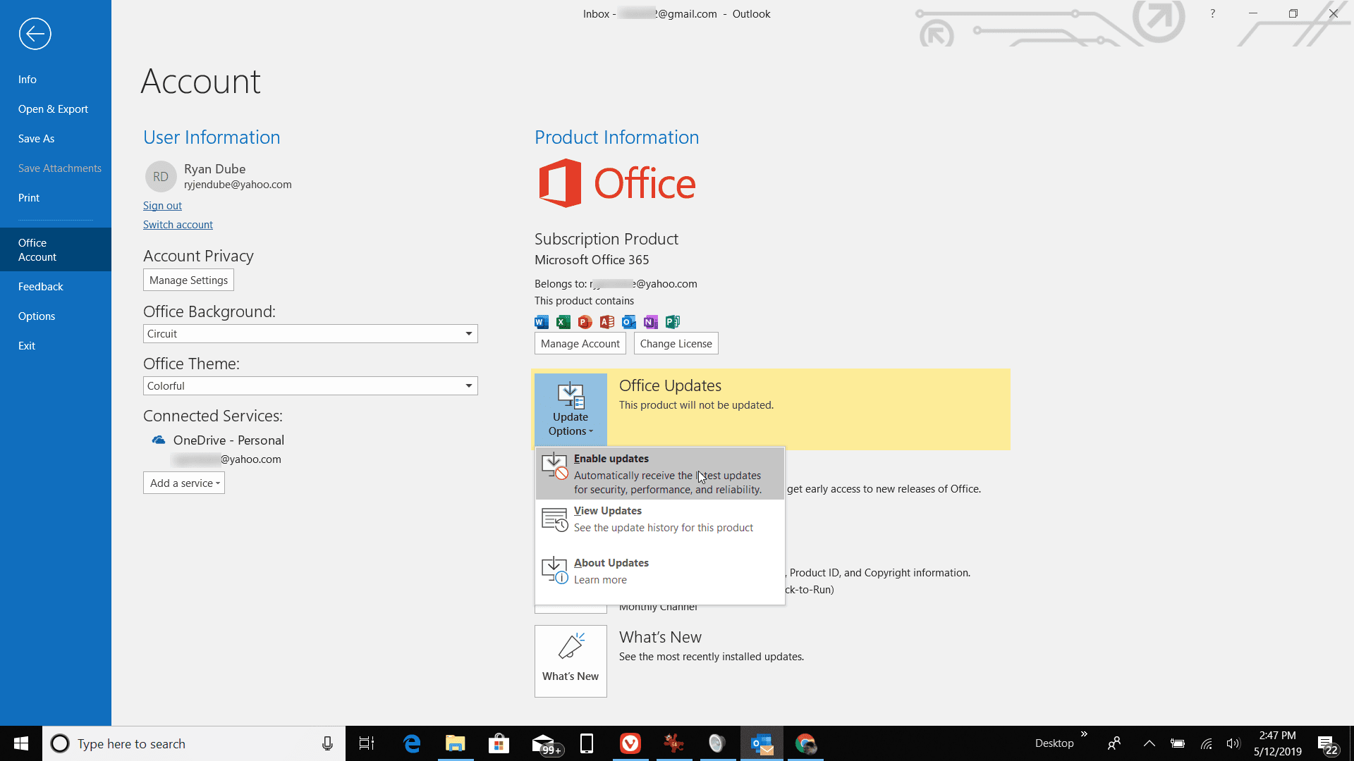 How to Enable Automatic Updates in Microsoft Outlook