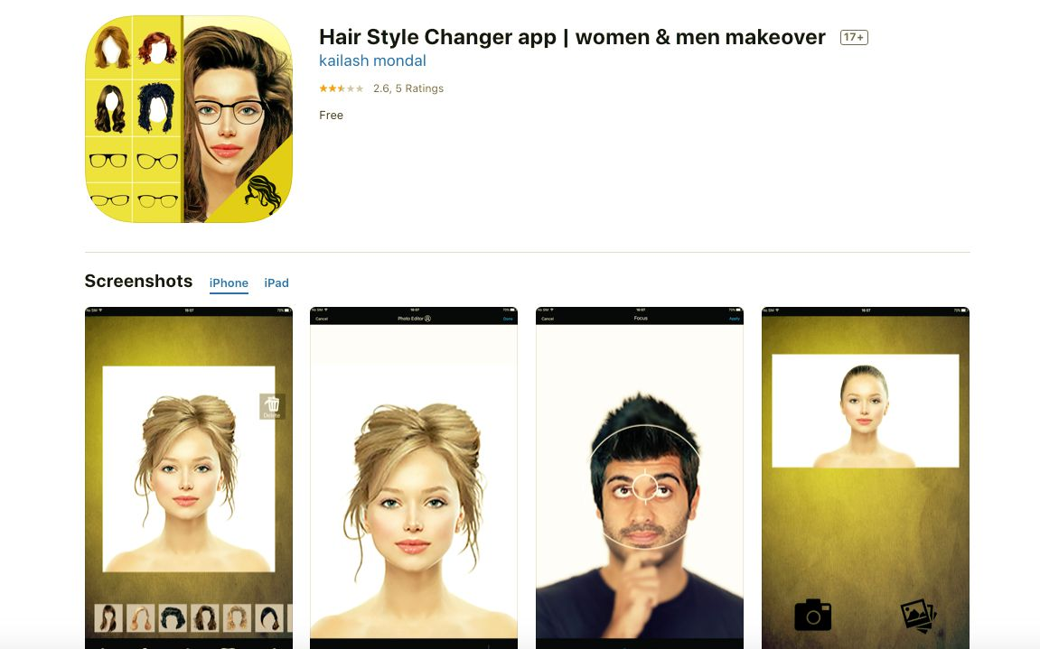The Best Change Your Hair Color Apps Of 2021