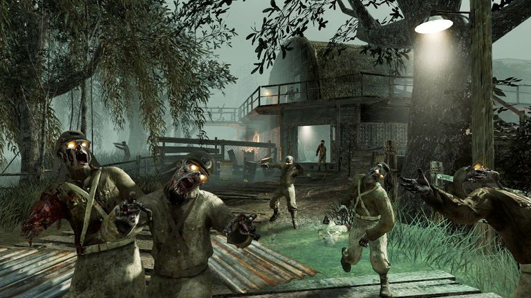 Call of duty zombies maps and game modes shi no numa call of duty zombies map gumiabroncs Images