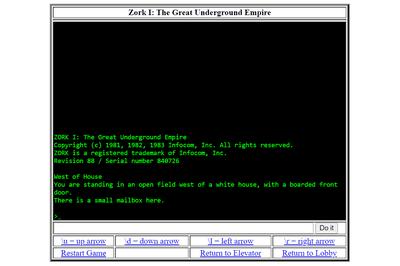 Zork online game
