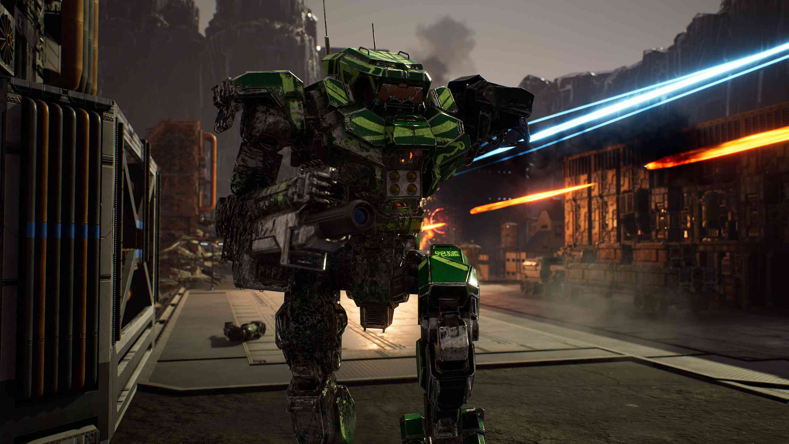 A press shot from 'MechWarriors 5: Mercenaries.'