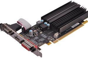 Photo of an XFX AMD Radeon HD 5450 1GB GDDR3 VGA/DVI/HDMI Low Profile PCI-Express Video Card (ONXFX1PLS2)