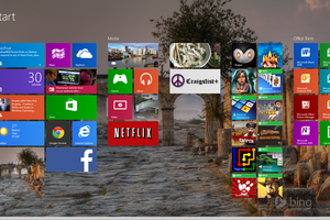 Windows 8's New Start Screen