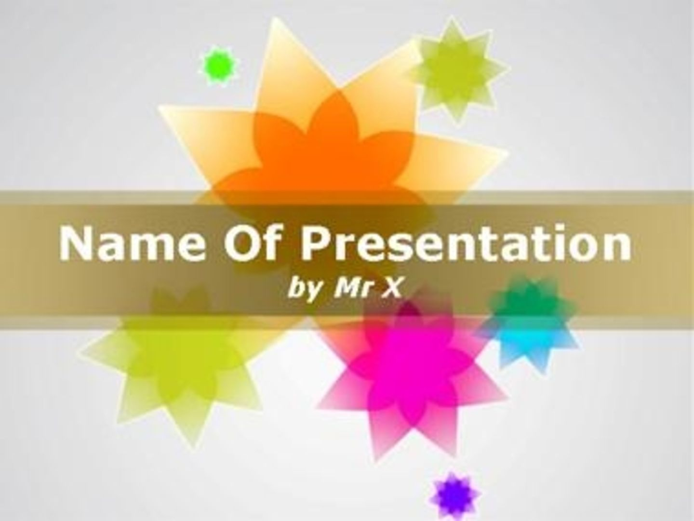 PowerPoint Styles templates