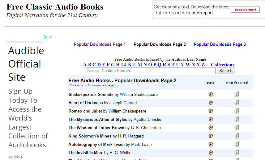 The 21 Best Free Audio Book Websites