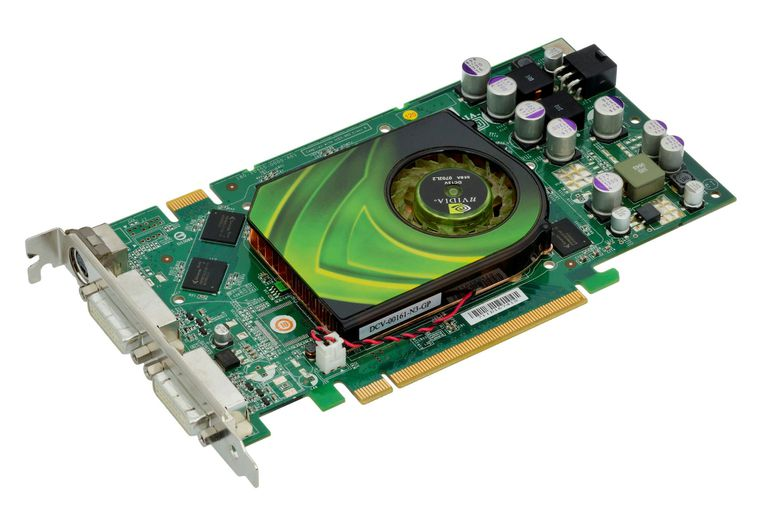Picture of a graphics card