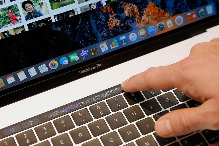 MacBook Pro with touchID