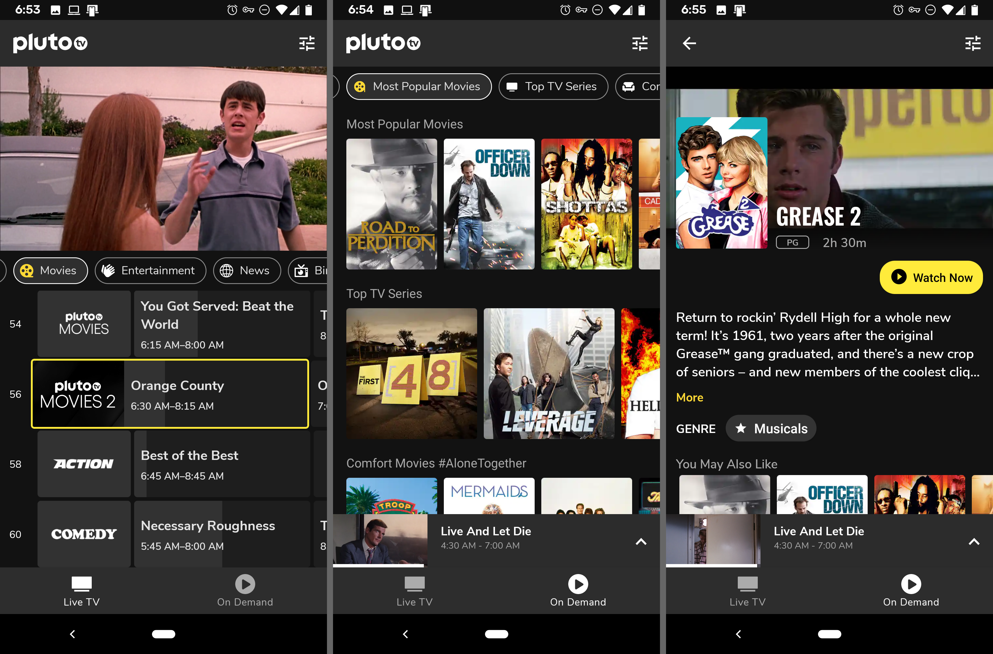 best free movie streaming app for android tablet