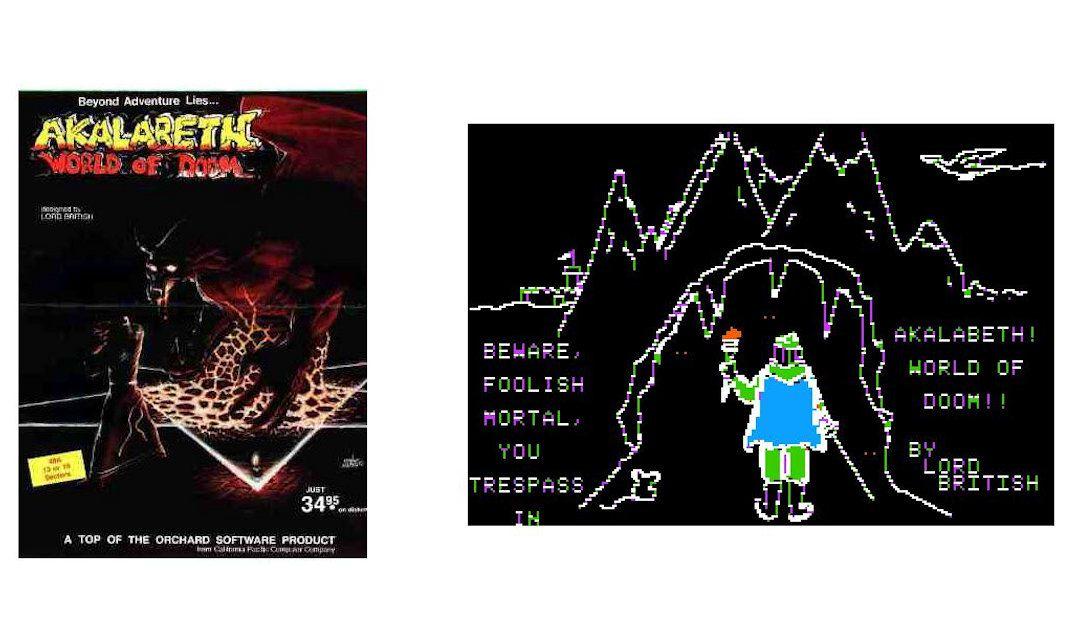 Akalaberth Box Art and Screenshot