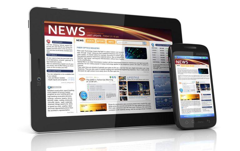 News webpage