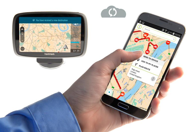 MyDrive Enables Route Pre-Loading, Easy Sharing Among Devices