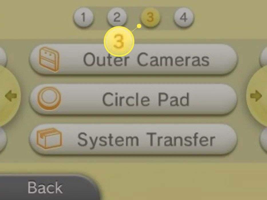 Tap 3 at the top of the screen, then tap System Transfer.