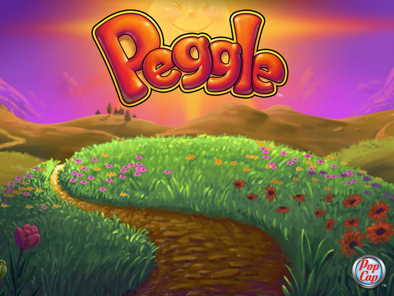 Peggle game by Popcap Games