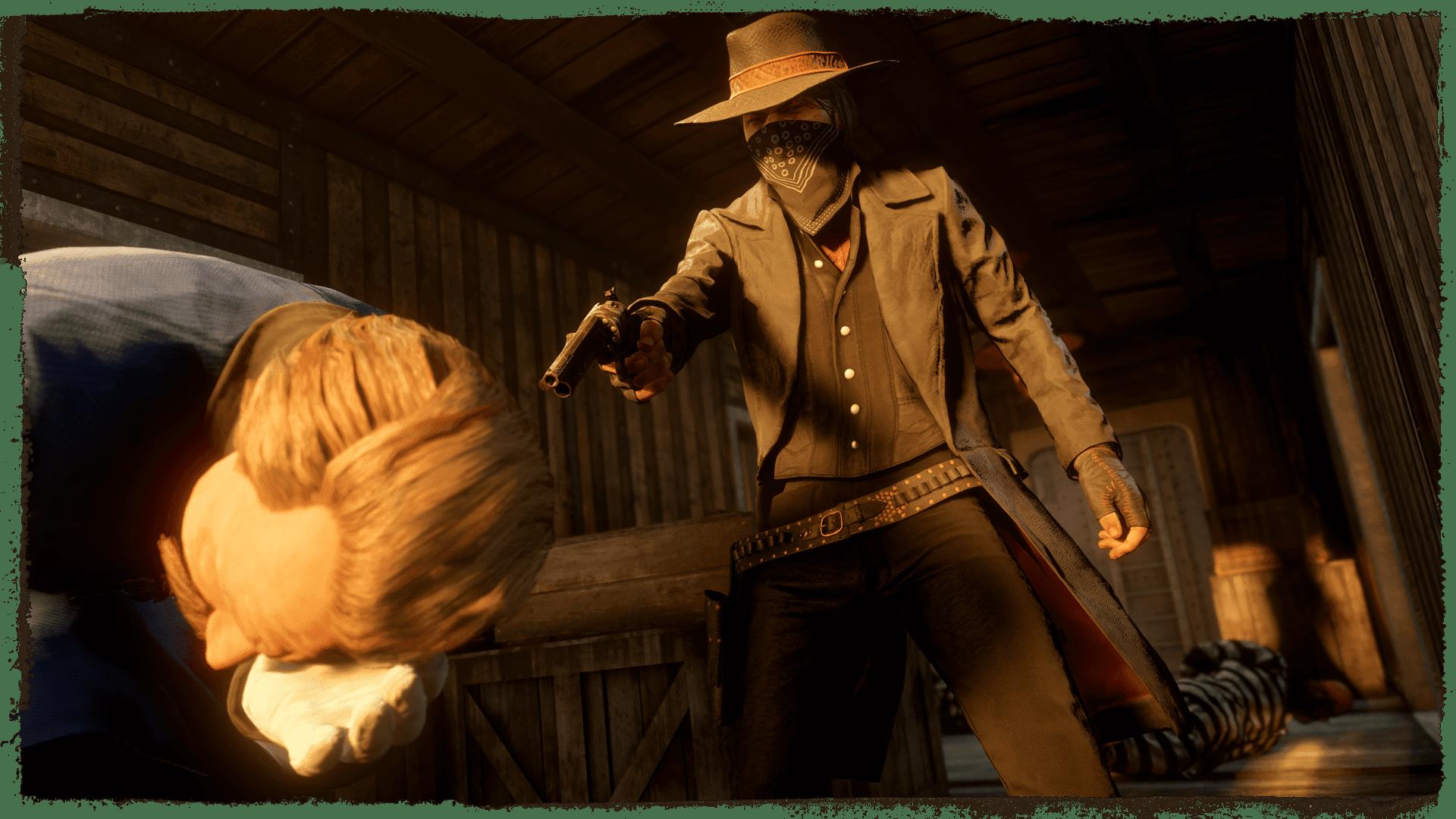 Screenshot from Red Dead Online: Blood Money.
