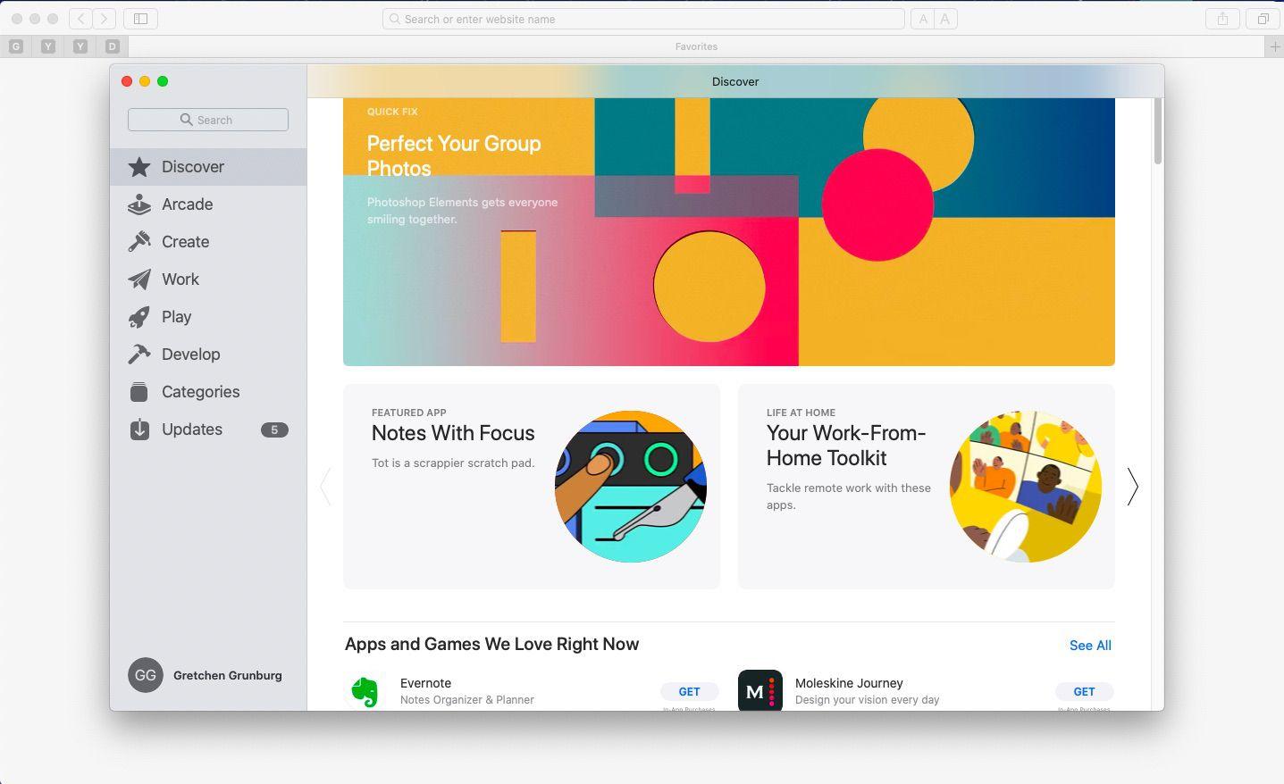 ac App Store's Safari Extension section,