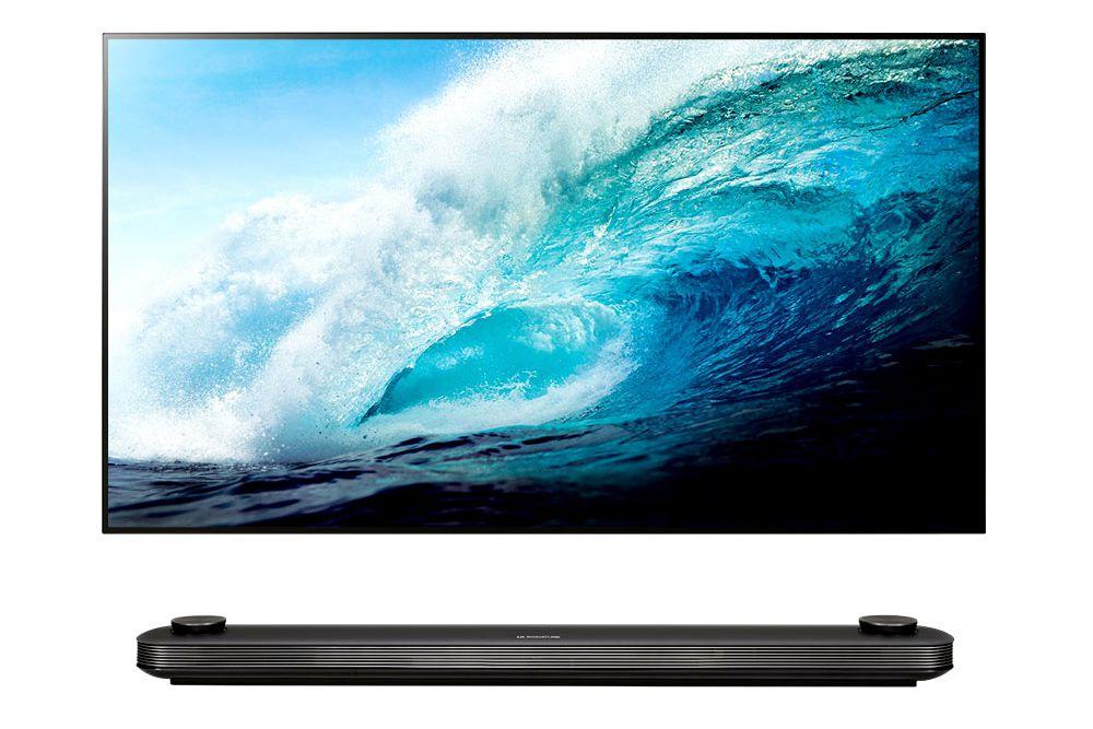LG Signature OLED 65W7P 4K Ultra HD Wallpaper TV