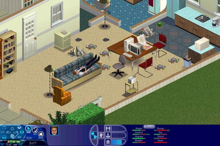 Screenshot from The Sims 1