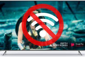 No Wi-Fi on Visio TV