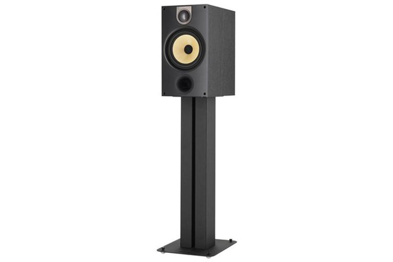 The Bowers Wilkins 685 Stereo Bookshelf Speaker On A Stand