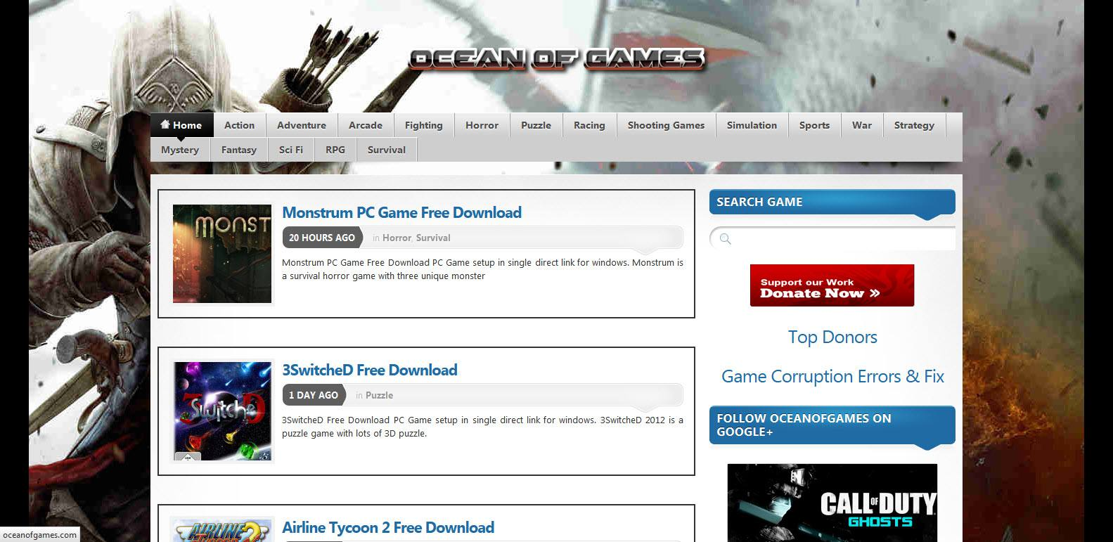 Top Free PC Game Websites to Download Free Games