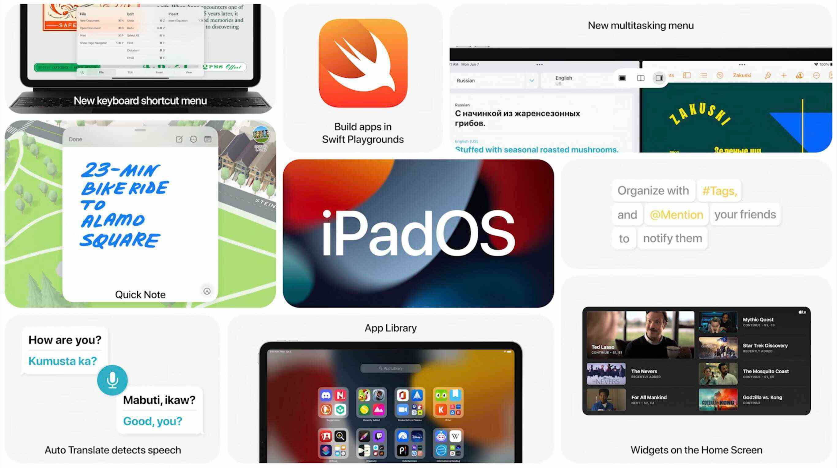 An overview of iPadOS 15