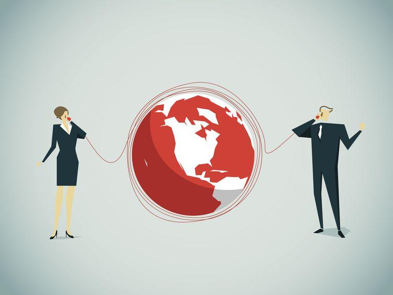 talking around the globe