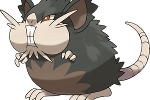 A Raticate pokemon.