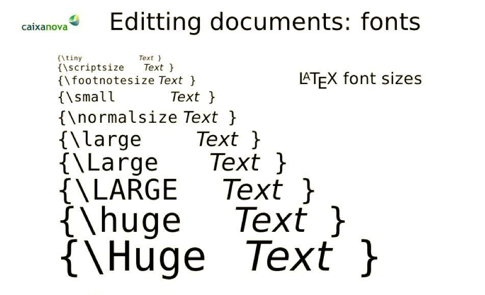 Smaller font sizes save printer ink