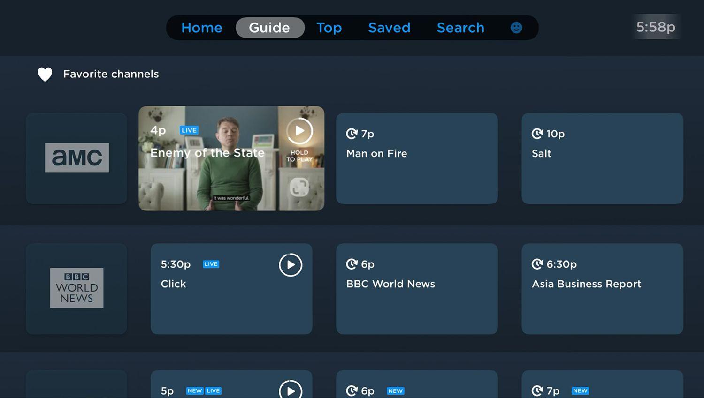 Philo app for Apple TV