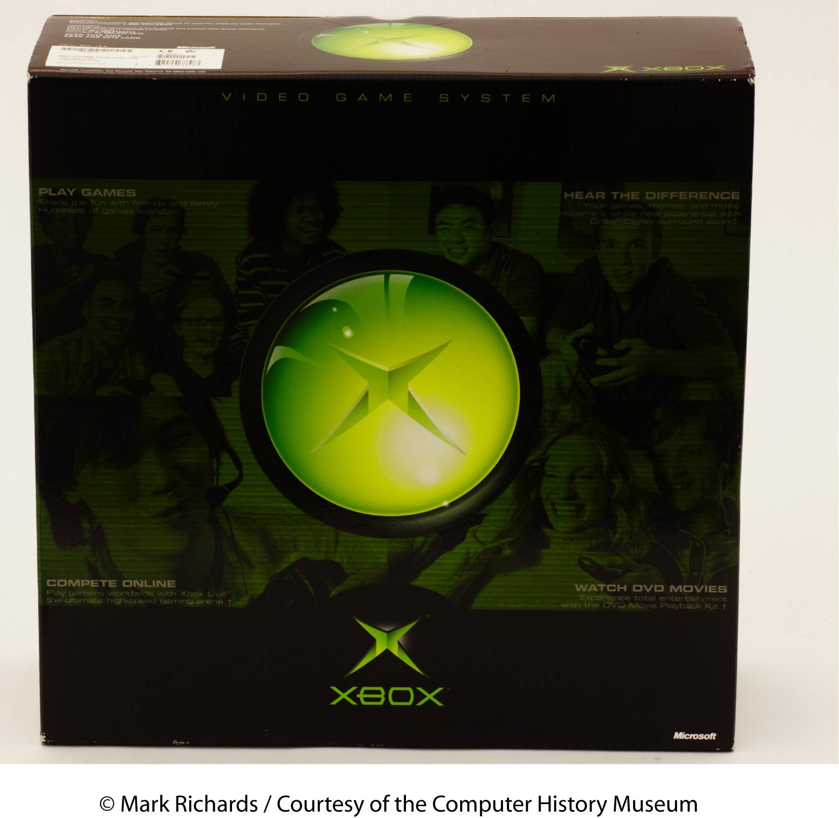 XBox console packaging.