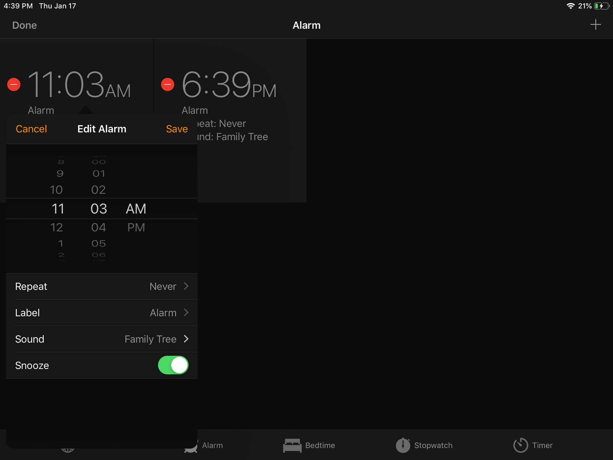 How to Set an Alarm on Your iPad Clock