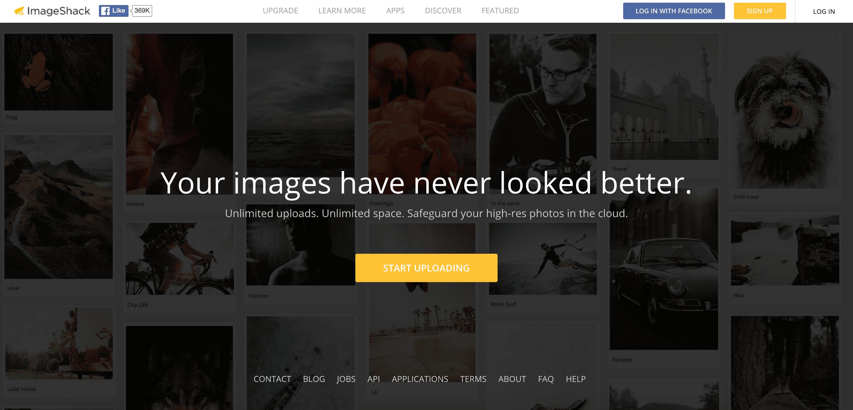 ImageShack free photo hosting site