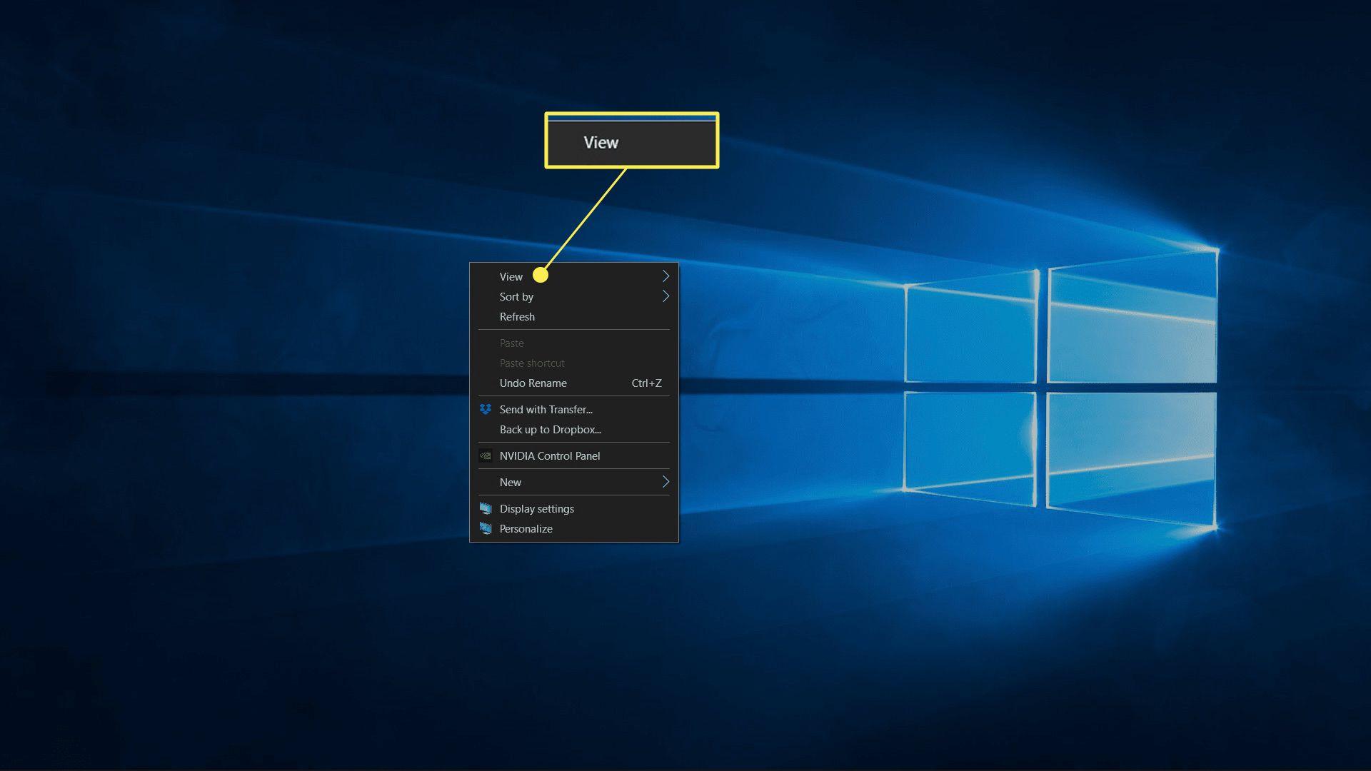 Desktop highlighted in File Explorer.