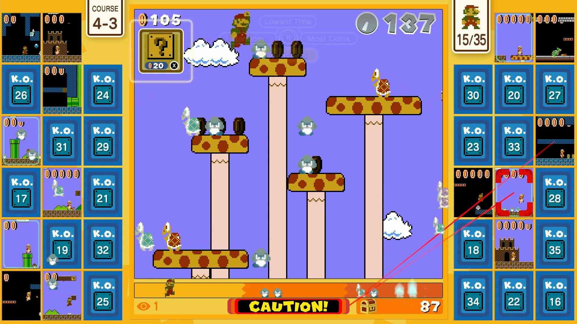 Super Mario Bros. 35 press screenshot